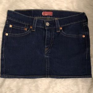 Levi's Type 1 Jeans Rugged Mini Skirt